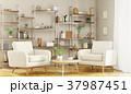 Interior of modern living room 3d rendering 37987451