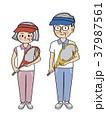 シニア テニス スポーツのイラスト 37987561