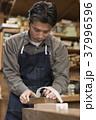 家具職人 男性 かんなの写真 37996596