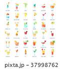 組み合わせ ベクトル フラットのイラスト 37998762