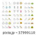 アイコン イコン 組み合わせのイラスト 37999110
