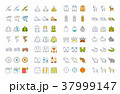 アイコン イコン 組み合わせのイラスト 37999147