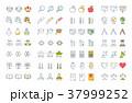 アイコン イコン ベクタのイラスト 37999252