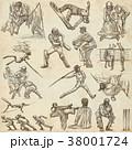 クリケット 人々 人物のイラスト 38001724