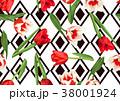 フラワー 花 チューリップのイラスト 38001924