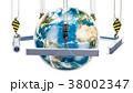 メタル 金属 ロールのイラスト 38002347