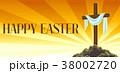 復活祭 キリスト教 十字架のイラスト 38002720