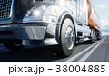 Gasoline tanker, Oil trailer, truck on highway 38004885