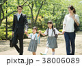 小学生 登校 ライフスタイルの写真 38006089