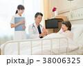 医師 患者 女性の写真 38006325