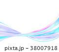 縞模様 ストライプ リボンのイラスト 38007918
