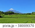 富士山 青空 快晴の写真 38009370