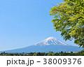 富士山 青空 初夏の写真 38009376