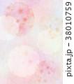 背景 和紙 ピンクのイラスト 38010759