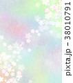 背景 和紙 桜のイラスト 38010791