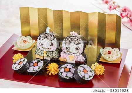 キャラ巻き寿司の写真素材 38015928 Pixta