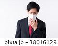 若い男性(マスク) 38016129