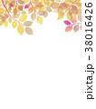 葉っぱ 背景 葉のイラスト 38016426