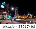 工事中のビッグベン ロンドン 夜景 38017498