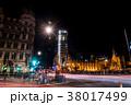 工事中のビッグベン ロンドン 夜景 38017499