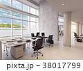 オフィス インテリア 近代的のイラスト 38017799
