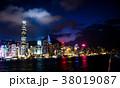 ホンコン 香港 ナイトシーン 38019087