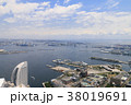 横浜港 建物 港の写真 38019691