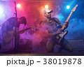 ベース ライブ ギタリストの写真 38019878
