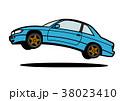 ベクター 自動車 乗り物のイラスト 38023410