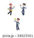 ベクトル フラット 平のイラスト 38023561