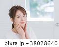 女性 顔 若い女性の写真 38028640