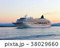 クルーズ客船「飛鳥Ⅱ」_美保湾 38029660