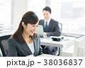 ビジネスウーマン ビジネス キャリアウーマンの写真 38036837