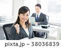 ビジネスウーマン ビジネス キャリアウーマンの写真 38036839