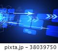 ビジネス テクノロジー ネットワークのイラスト 38039750