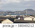 福岡県北九州市 関門海峡と関門橋 38040212