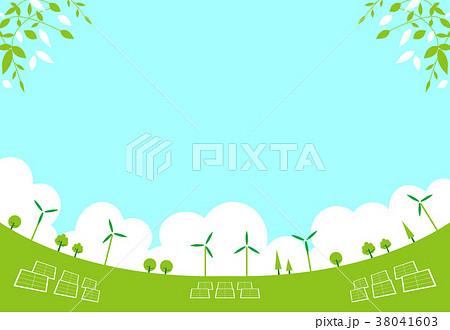 再生可能エネルギー 風景 38041603