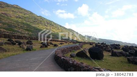 ハワイ オアフ島 ヘイアウ マカプウ展望台 風景 38042783