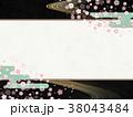 和モダン 夜桜 38043484
