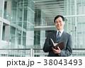 ビジネスマン ビジネス 中年の写真 38043493