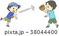 キャッチボール 男の子 38044400