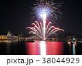 横須賀カウントダウン 花火 38044929