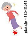 人物 シニア 女性のイラスト 38045165