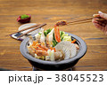 鍋 石狩鍋 ちゃんこ鍋の写真 38045523