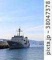 敷設艦 海 船の写真 38047378