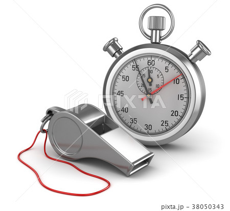 Whistle and Stopwatch 38050343
