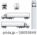 ベクトル トラック テンプレートのイラスト 38050649
