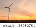 工業地帯・夕景 38050751