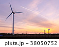 工業地帯・夕景 38050752