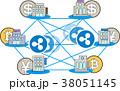 仮想通貨 管理 セキュリティーのイラスト 38051145